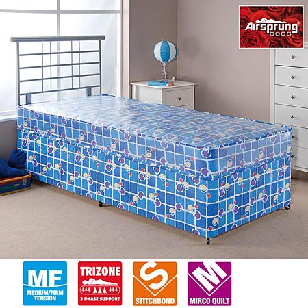 Airsprung Kids Waterproof Divan Single Various Storage Beds Asda Direct