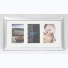 ASDA Silver 3 Photo Frame - 6x4 Inch