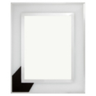 ASDA Metal Edge Glass Photo Frame - 8x6 Inch
