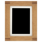 ASDA Jointed Wood Photo Frame - 8x6 Inch