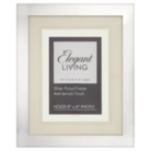 ASDA Elegant Living Silver Plated Photo Frame - 8x6 Inch