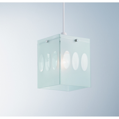 ASDA Frosted Glass Panel Light Pendant