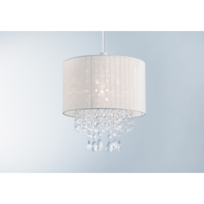 ASDA Voile Pendant Light Shade - Cream