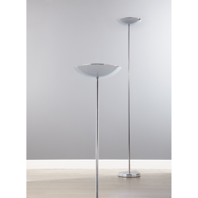 Asda chrome uplighter floor lamp chrome fm1103a review for Floor lamp asda