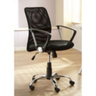 Black Mesh Back Executive Chair