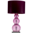 ASDA Glass Ball Table Lamp - Purple