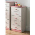 Jill Childrens Tall Chest - 5 Drawer
