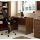 Ascot Desk - Walnut Effect