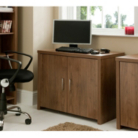 Ascot Office Hideaway - Walnut Effect