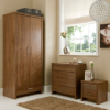 Ascot Bedside Cabinet - Walnut Effect alternative view