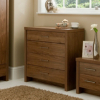 Ascot Chest Of Drawers - Walnut Effect main view