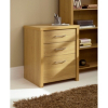 Ascot Filing Cabinet - Oak Effect main view