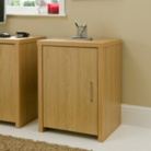 Ascot Cupboard - Oak Effect