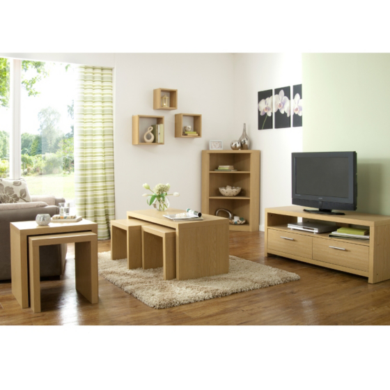 Ancona Living Room Range - Oak Effect