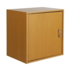 Cube With Door in Beech