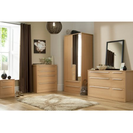 Melbourne Beech Bedroom Range