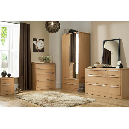 Melbourne Beech Bedroom Range Bedroom Ranges Asda Direct