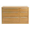 Melbourne 6 Drawer Wide Chest - Oak Effect alternative view