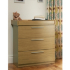 Banbury Baby Changer Unit- Oak Effect