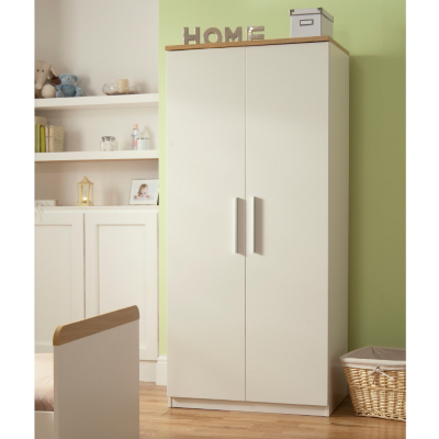 Banbury Wardrobe - White, White 5052449346466