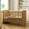 Malvern Cot Bed - Oak Effect main view