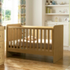 Malvern Cot Bed - Oak Effect