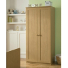 Malvern Wardrobe - Oak Effect main view