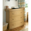 Malvern Baby Changing Unit - Oak Effect main view