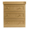 Malvern Baby Changing Unit - Oak Effect alternative view