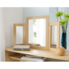 Dressing Table Mirror - Oak Effect