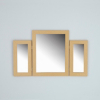 Dressing Table Mirror - Oak Effect alternative view