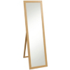 Cheval Mirror - Oak Effect alternative view