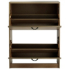 ASDA Walnut Effect Shoe Rack Cabinet alternative view