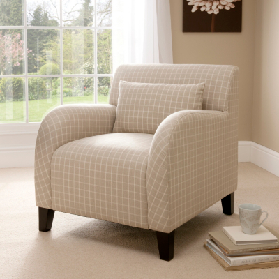 Bethany Armchair in Cream