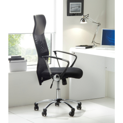 ASDA Deluxe Mesh Office Chair, Black CNSZ0051325
