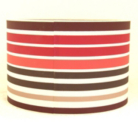 ASDA Drum Shade - Striped