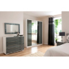 Minsk Grey Gloss Chest - 10 Drawers alternative view