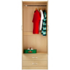 Florida Birch Wardrobe - 2 Door - 2 Drawer alternative view