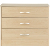 Florida Birch Wide Chest - 3 Drawer alternative view