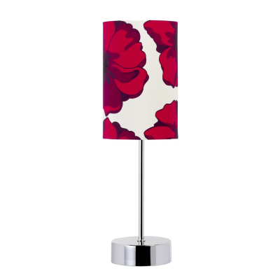 asda touch table lamp poppy design chrome review. Black Bedroom Furniture Sets. Home Design Ideas