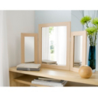 Dressing Table Mirror - Beech Effect