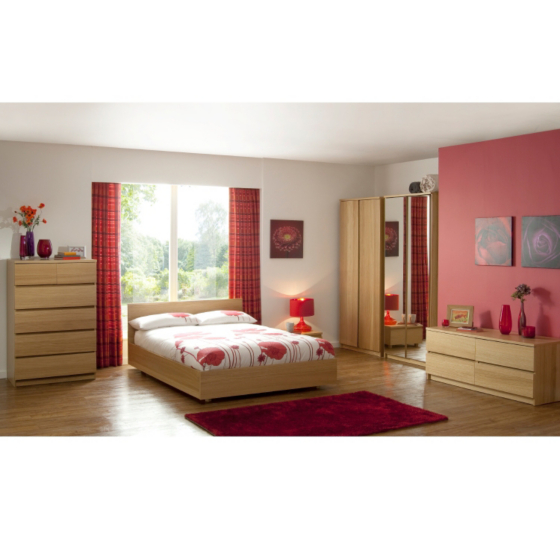 Strasbourg Oak Veneer Bedroom Range