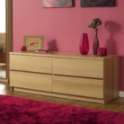 Strasbourg Chest - 4 Drawer - Oak Veneer