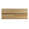 Strasbourg Chest - 4 Drawer - Oak Veneer alternative view