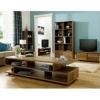 Strasbourg Wide Media Unit - 1 Door - Walnut Veneer alternative view