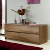 Strasbourg Chest - 4 Drawer - Walnut Veneer main view