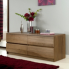 Strasbourg Chest - 4 Drawer - Walnut Veneer