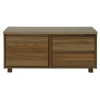 Strasbourg Media Unit - 1 Door - 2 Drawer - Walnut Veneer alternative view