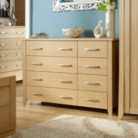 Montreaux Chest - 8 Drawer - Oak Veneer