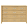 Montreaux Chest - 8 Drawer - Oak Veneer alternative view